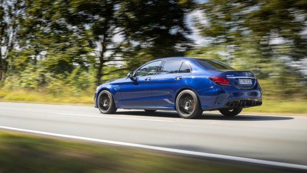 Der neue Mercedes-AMG C 63 / Bilster Berg 2018