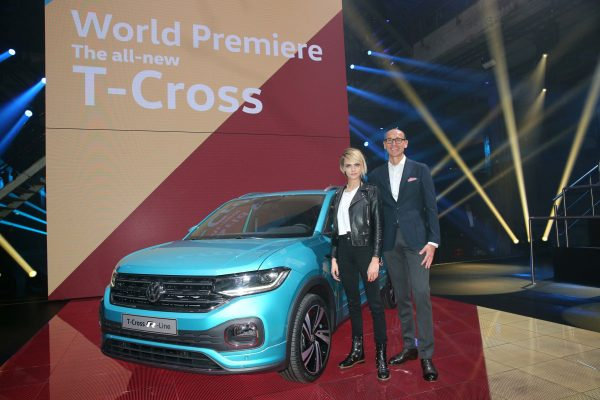 World Premiere Of The New Volkswagen T-Cross In Amsterdam