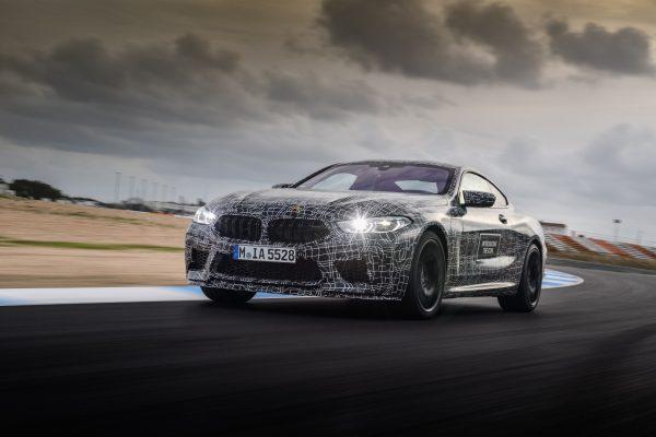 Bmw M8 Coupe Offizielle Erlkonig Fotos Vom Test Auf Der Rennstrecke