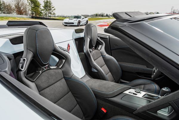 Carbon 65 Edition convertibles feature carbon-fiber tonneau inserts.