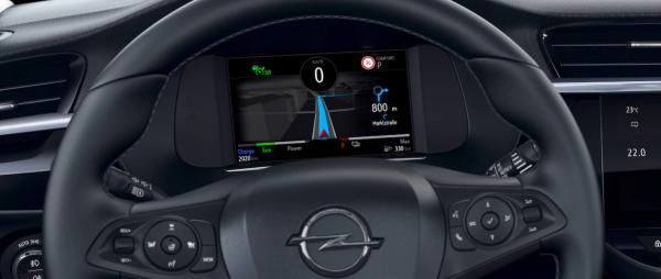 Digitaler Tacho im Opel Corsa-e