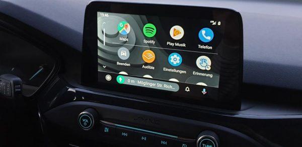 Neue Bedienoberfläche bei Android Auto