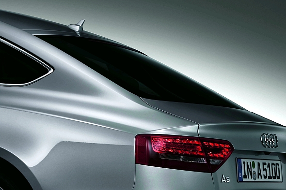 Audi A5 Sportback White. Audi A5 Sportback White 2010.