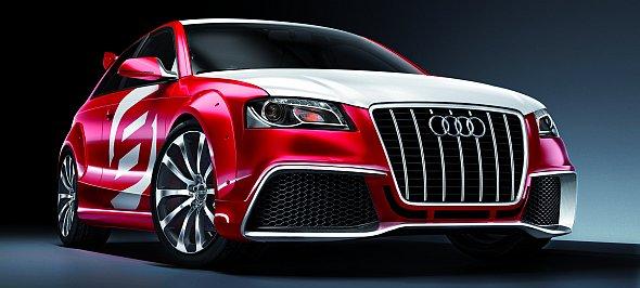Studie als Ausblick auf den Audi RS3?