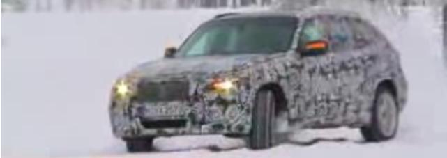 BMW X1 Concept am Polarkreis