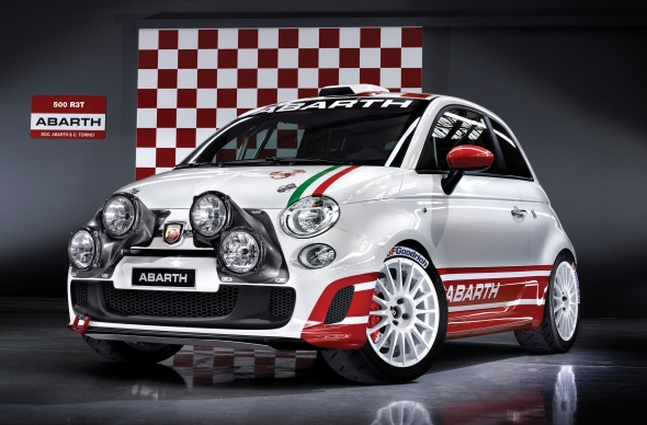 Fiat 500 Abarth Assetto Corse Rallye-Version