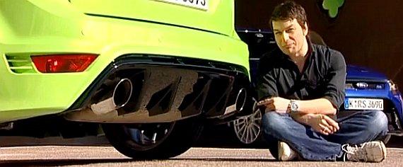 Ford Focus RS bei AutobildTV