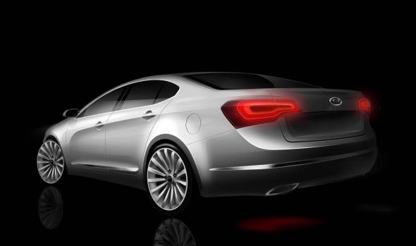 Kia Luxus Limousine VG