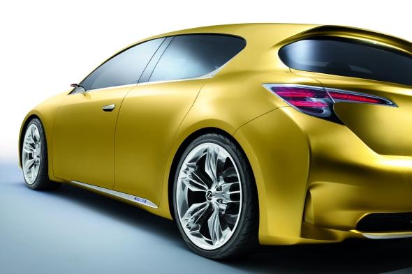 Lexus Vollhybrid Konzeptstudie LF-Ch