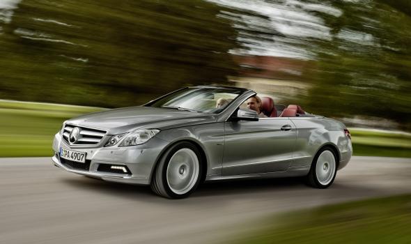 Mercedes E-Klasse-Cabrio