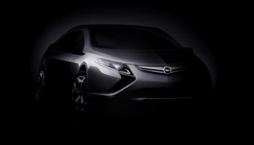 Opel Ampera Vorschau