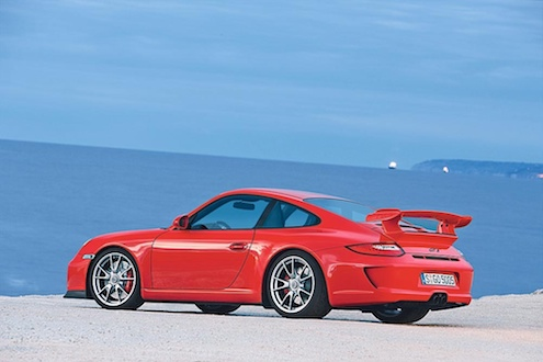 Porsche 911 GT3 Seitenansicht