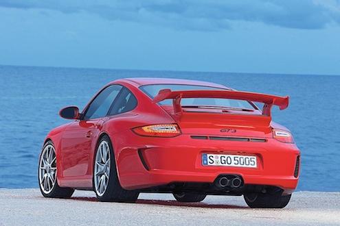 Porsche 911 GT3 Heckansicht