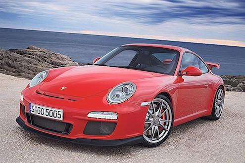 Porsche 911 GT3 schräg vorne