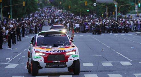 Rallye Dakar 2009 Mitsubishi