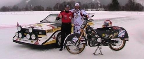 Armin Schwarz im Audi S1 und Franky Zorn